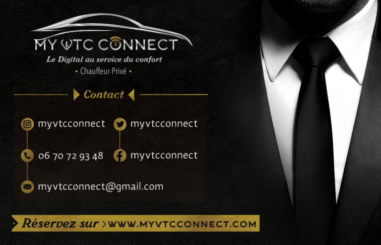 CARTE DE VISITE MY VTC Connect